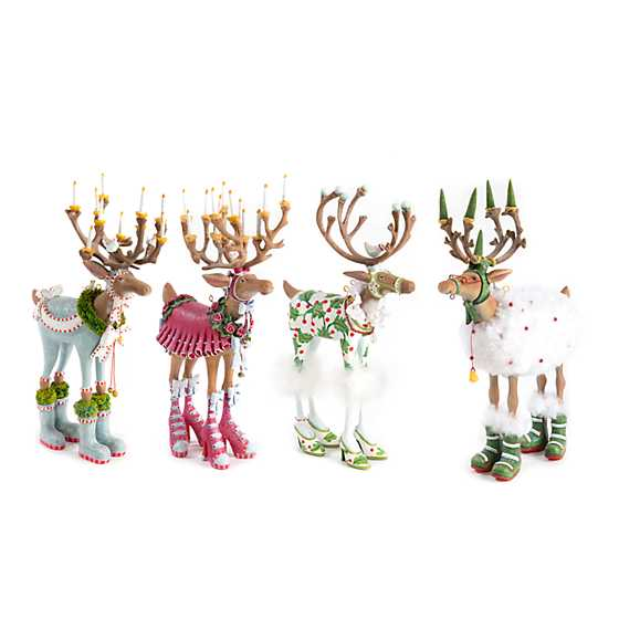Patience Brewster Dash Away Reindeer Figure Set