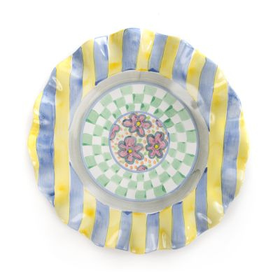 Taylor Fluted Luncheon Plate - Myrtle