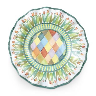 Taylor Fluted Luncheon Plate - Poplar Ridge