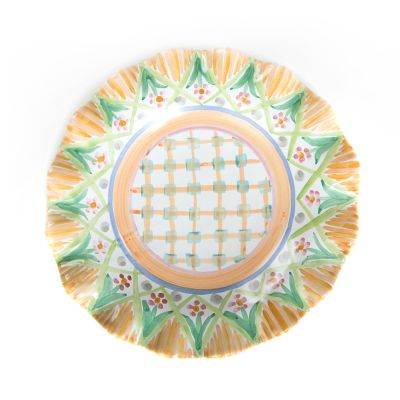 Taylor Fluted Luncheon Plate - Kings Corners