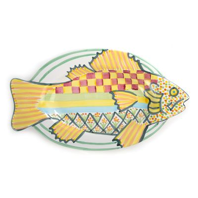 Dinner Fish Platter - Yellow