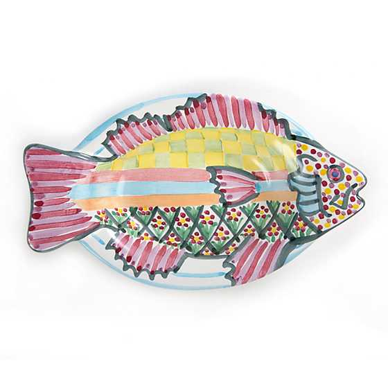 Small Fish Dish - Pink image one