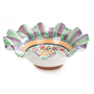 Taylor Fluted Breakfast Bowl - Forest Home