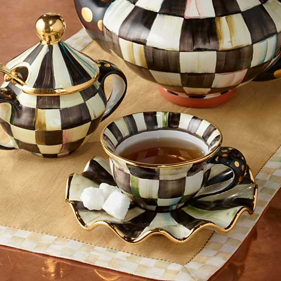Courtly Check Teacup image four
