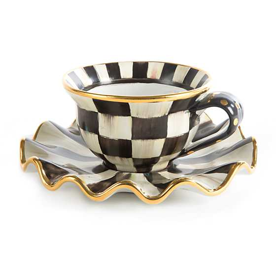 Courtly Check Teacup image three