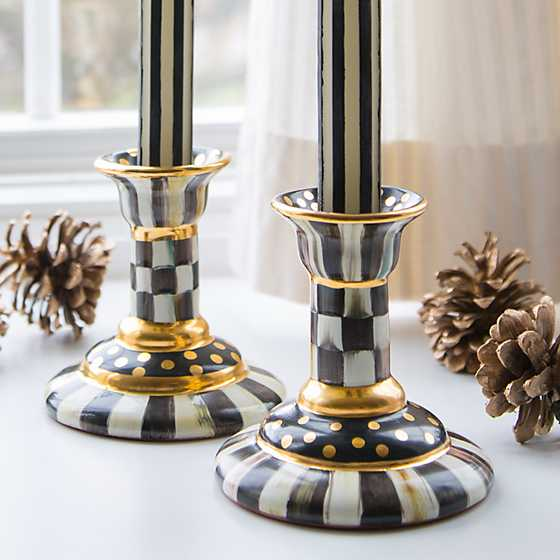 Courtly Check Column Candlestick image six