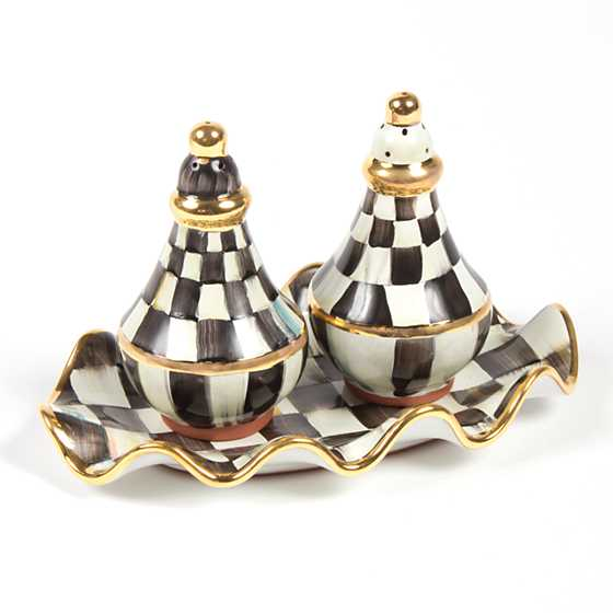 Courtly Check Salt & Pepper Shaker Set image nine