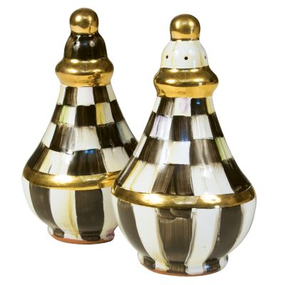 Image for Courtly Check Salt & Pepper Shaker Set