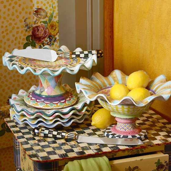 Taylor Fluted Cake Stand - Odd Fellows image three