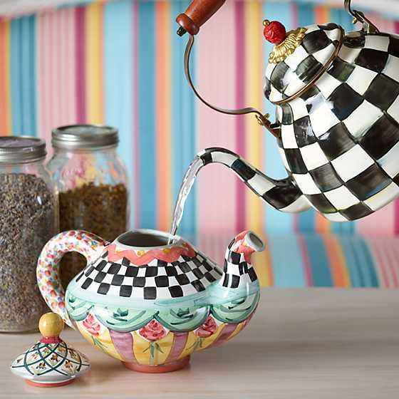 Taylor Teapot - Odd Fellows image three