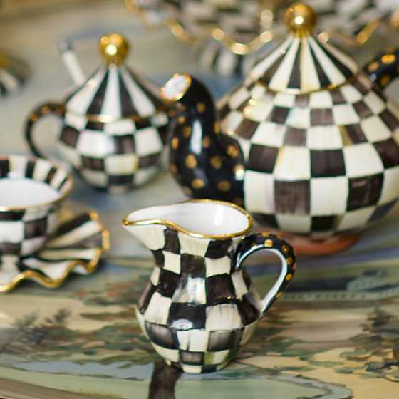Courtly Check Creamer image two