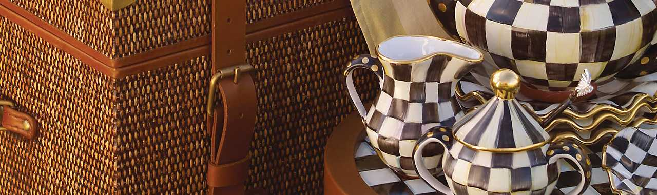 Courtly Check Creamer Banner Image