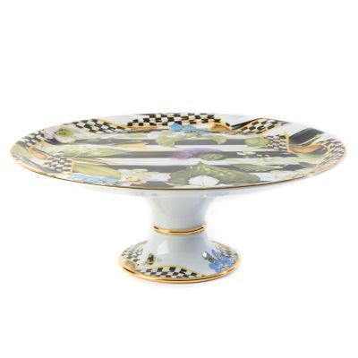 Thistle & Bee Cake Stand