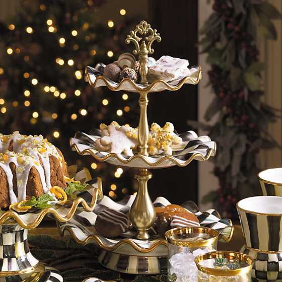 Courtly Check Three Tier Sweet Stand image three