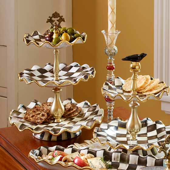 Courtly Check Three Tier Sweet Stand image seven