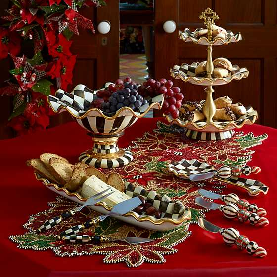 Courtly Check Three Tier Sweet Stand image ten