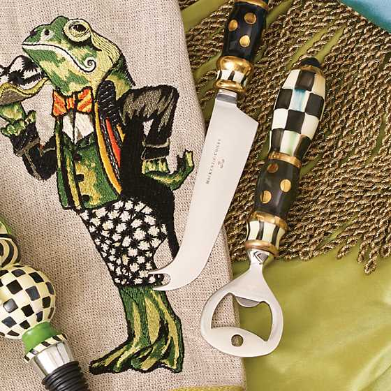 Courtly Check Bottle Opener