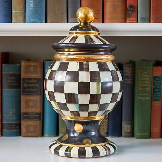 Courtly Check Globe Canister image four