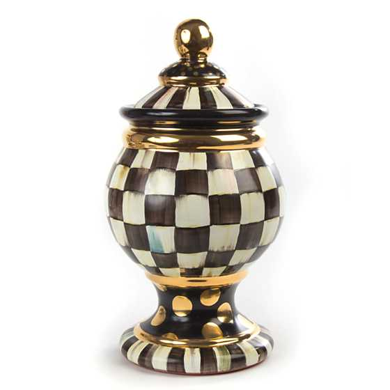 Courtly Check Globe Canister image one
