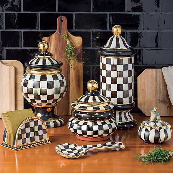Courtly Check Groovy Canister image five