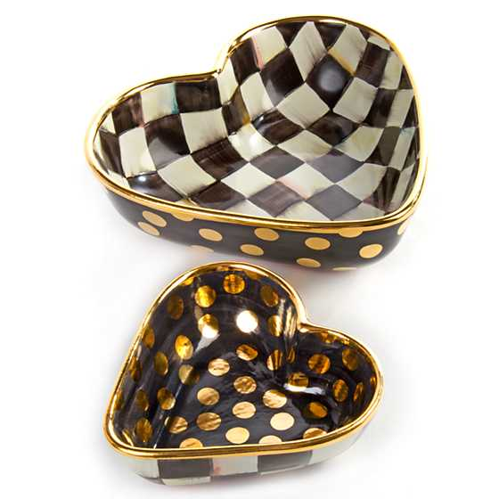 Courtly Check Heart Bowl - Small image eleven