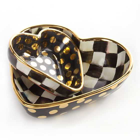 Courtly Check Heart Bowl - Small image twelve