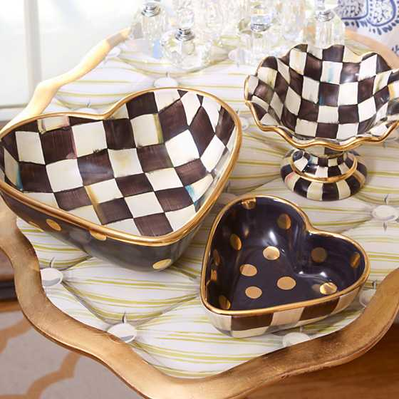 Courtly Check Heart Bowl - Small image seven
