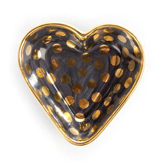 Courtly Check Heart Bowl - Small image three