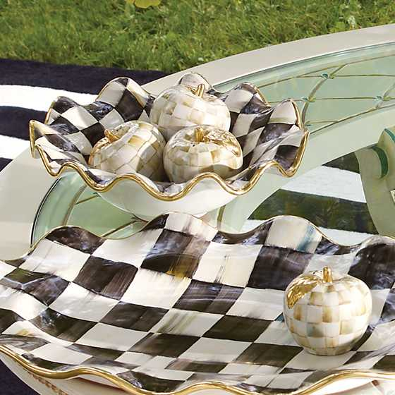 Courtly Check Small Serving Bowl image two
