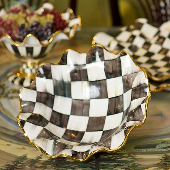 Courtly Check Medium Serving Bowl image two