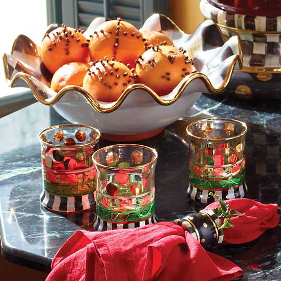 Courtly Check Medium Serving Bowl image three