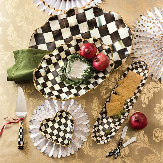Courtly Check Large Serving Platter image six