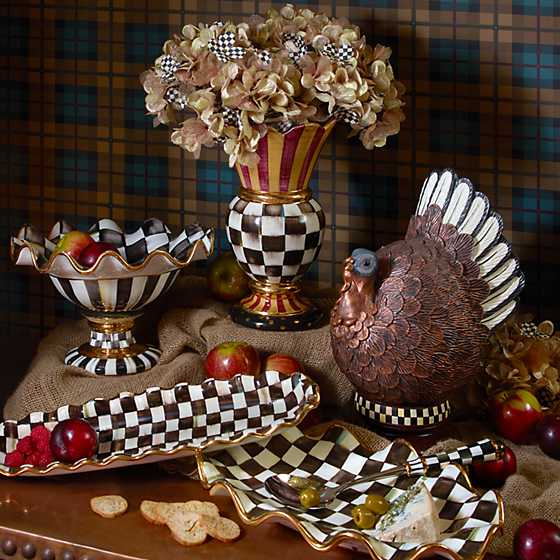 Courtly Check Serving Platter image nine