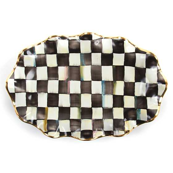 Courtly Check Serving Platter image one