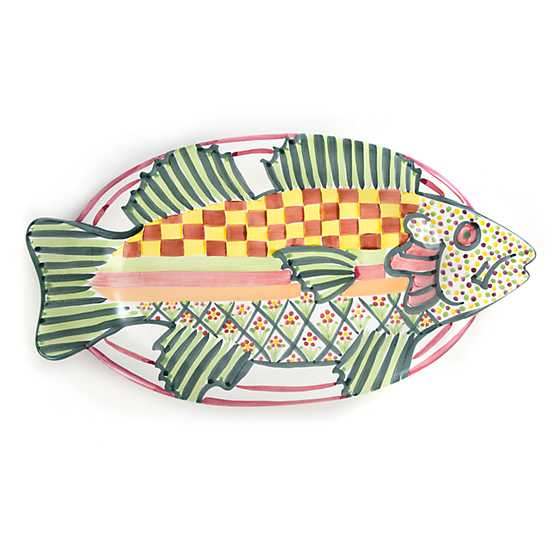 Perfect Fish Platter - Green image one