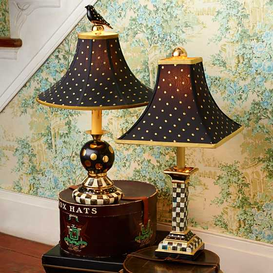 Courtly check candlestick lamp courtly check candlestick lamp