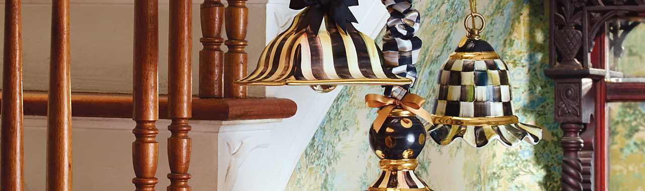 Courtly Check Pendant Lamp - Small Banner Image