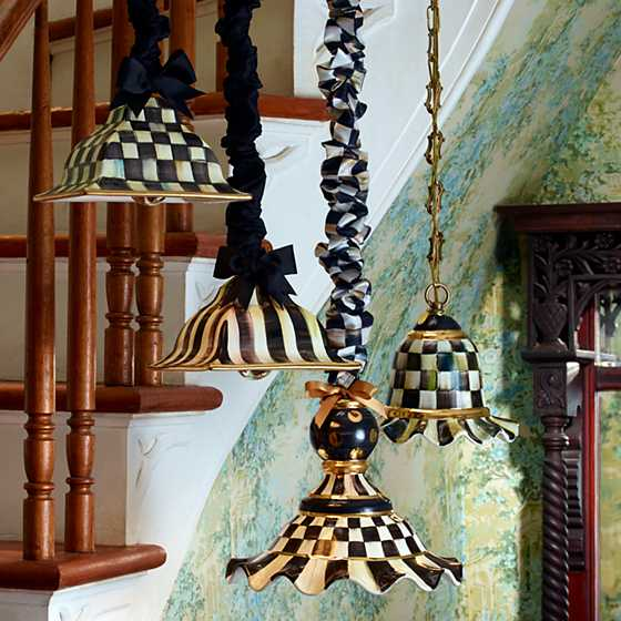 Courtly Check Pendant Lamp - Medium image two