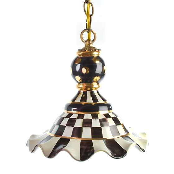 Courtly Check Pendant Lamp - Medium