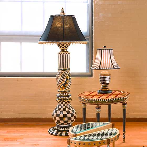 Courtly Check Floor Lamp image five