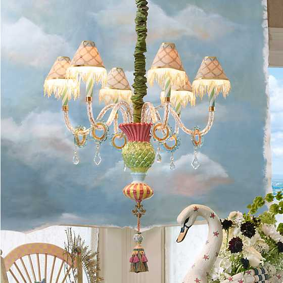 Thistle Chandelier image two