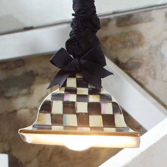 Courtly Check Square Hanging Lamp