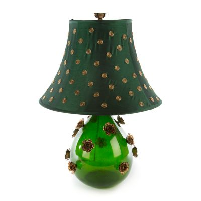 Emerald Rose Lamp - Large