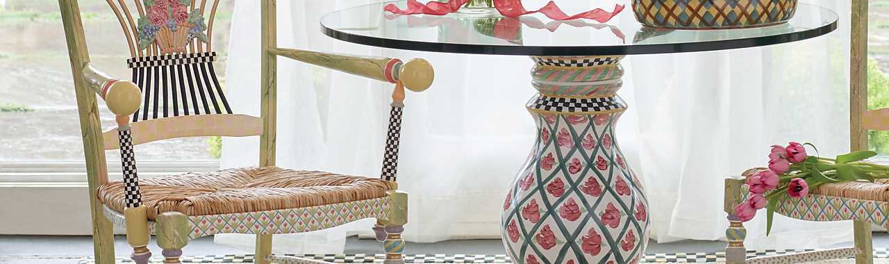 Carousel Pedestal Table Base Banner Image