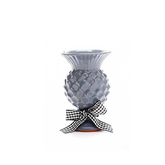 Mini Thistle Vase - Pewter