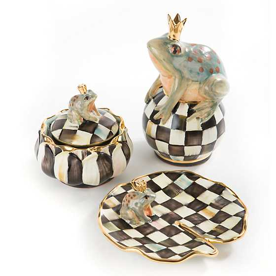 Frog on Ball - Courtly Check image three