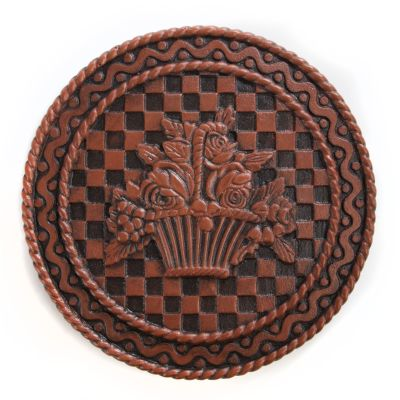 Flower Basket Stepping Stone