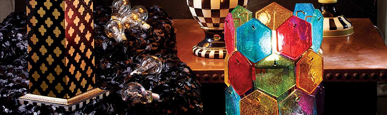 Kaleidoscope Table Lamp Banner Image