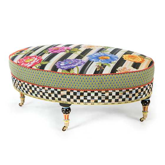 Cutting Garden Oval Ottoman image one