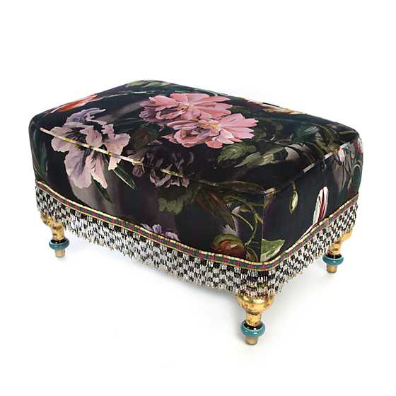 Moonlight Garden Rumor Has It Ottoman